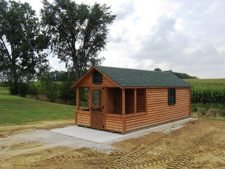 Columbus ohio camping cabin portable cabins log cabins for Camp gioia ohio cabine