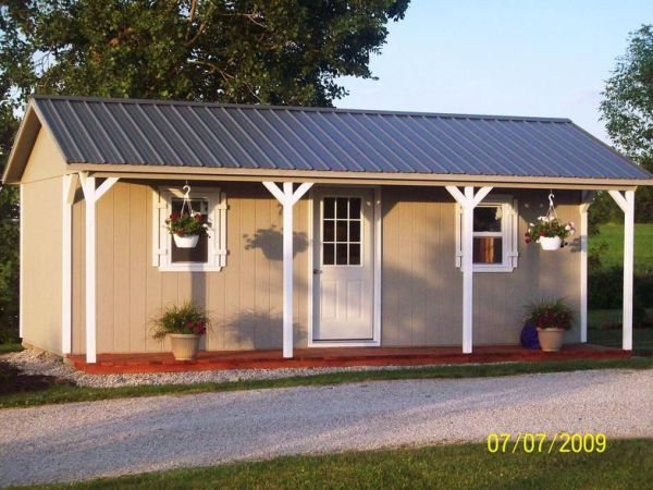 how to build your own shed cheap